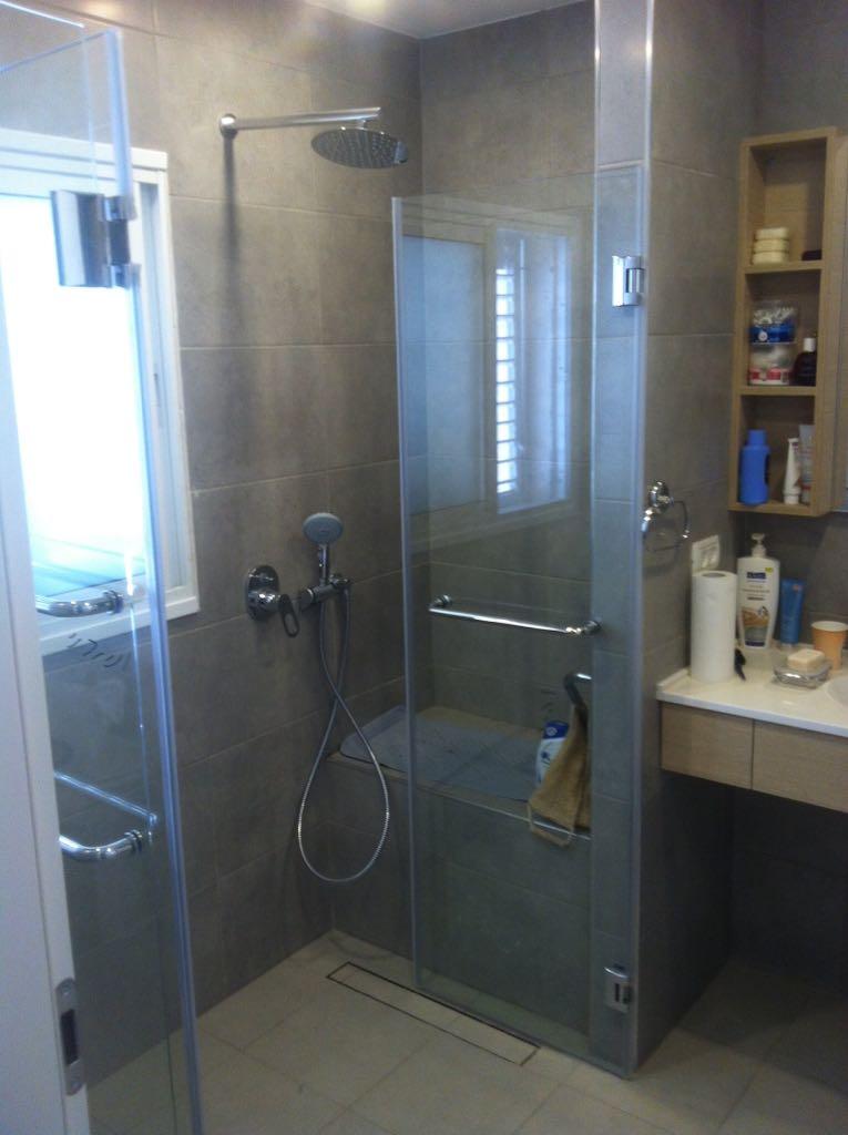 התקנת מקלחון באחריות
